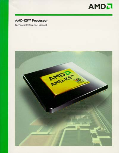 AMD-K5 Processor Technical Reference Manual
