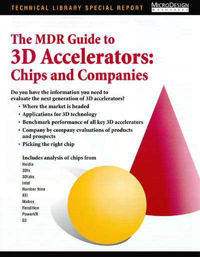 MicroDesign Resources 3D Technology Report