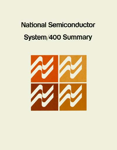 National Semiconductor System/400 Summary