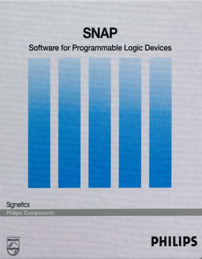 Philips SNAP Software for Programmable Logic Devices Manual