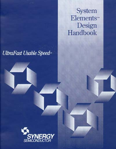 Micrel Synergy Semiconductor System Elements ECL Design Handbook
