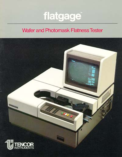 KLA-Tencor Flatgage Wafer and Photomask Flatness Tester Data Sheet