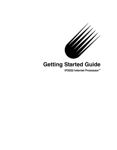 Ubicom IP2022 Internet Processor Getting Started Guide